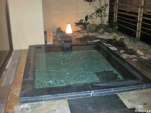 Hotel Iwaso Ryokan zona baño